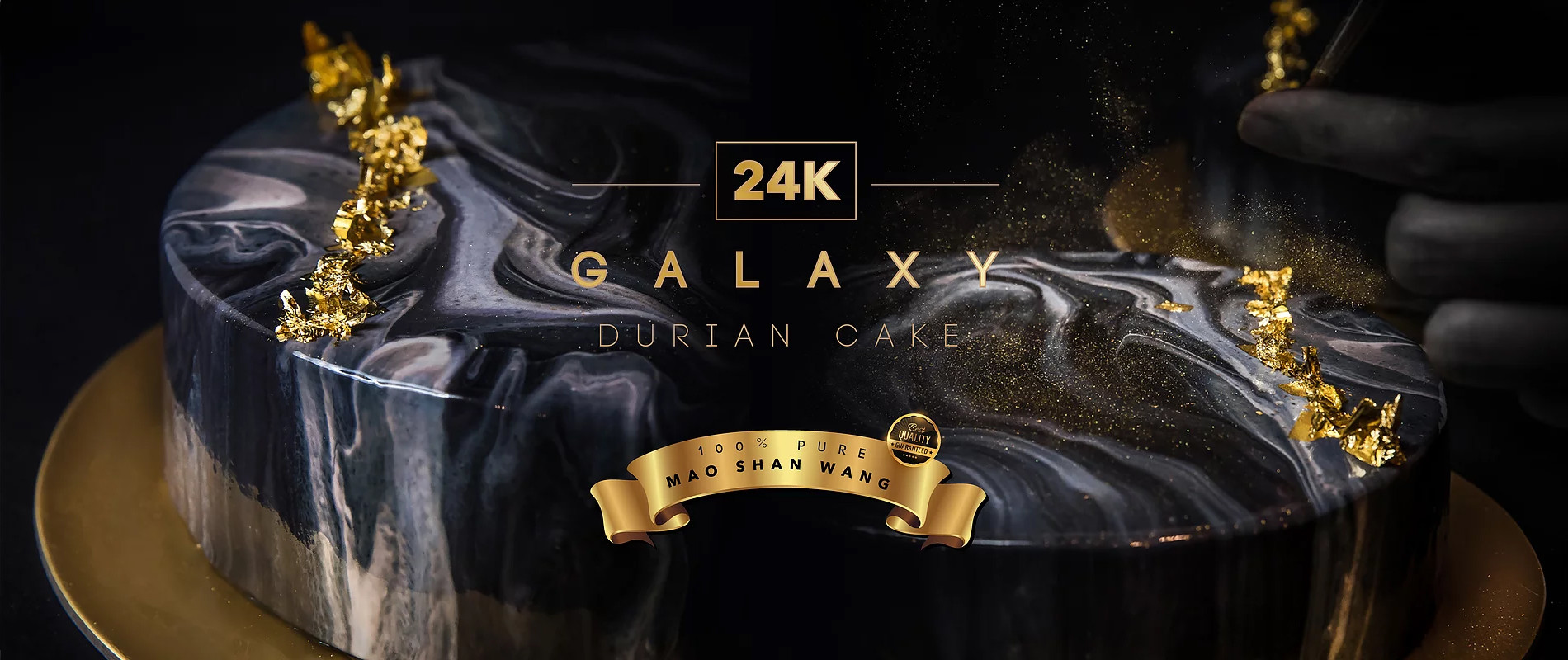 24K Galaxy Mao Shan Wang Durian Cake