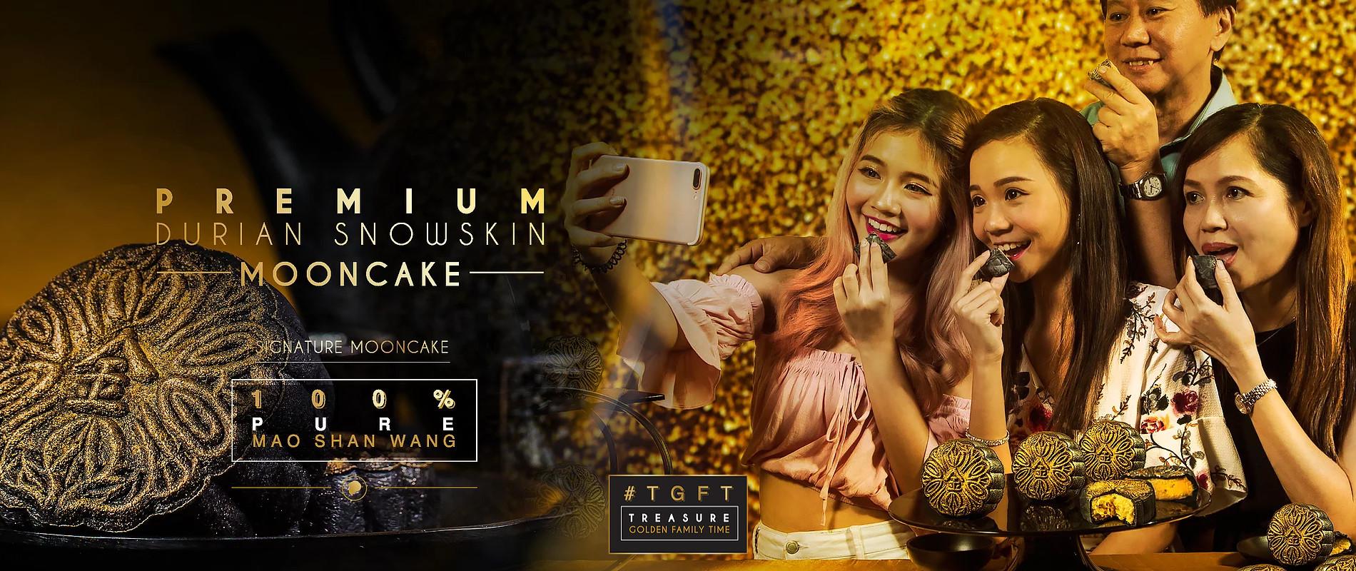 Premium Mao Shan Wang Durian Snowskin Mooncake